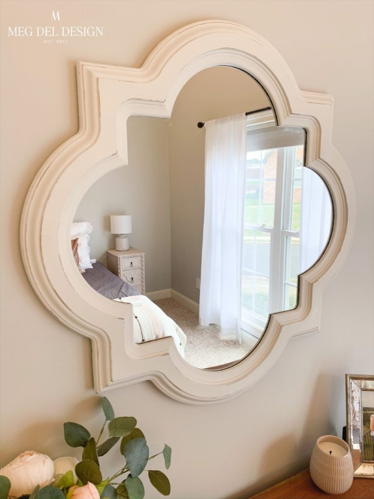 How To Paint A Mirror Meg Del Design Furniture Diy Blog